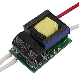 GU10 1 3W 650~700mA Constant Current Regulated LED Driver (85~265V Input)