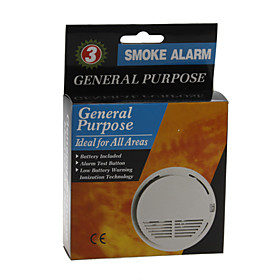 Smoke Detector Alarm (Optical Sensors)