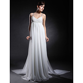 Chiffon Elastic Woven Satin Sheath/ Column Sweep/ Brush Evening Dress inspired by Taylor Swift