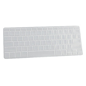 Silicone Keyboard Protective Cover for APPLE MACBOOK PRO(Translucent White)