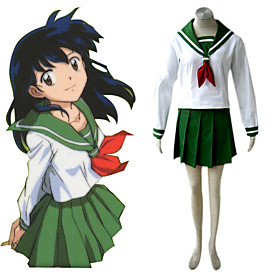 Japanese School Uniform Inuyashai Cosplay Costume