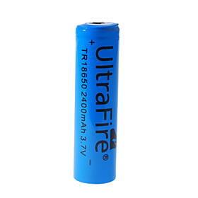 Ultrafire 18650 3.7V 1600mAh Rechargeable Lithium Batteries (2-Pack)