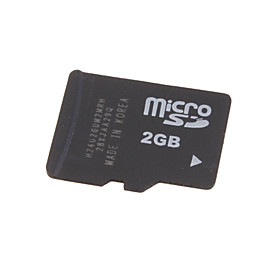 2GB Kingston MicroSD Card Memory Card