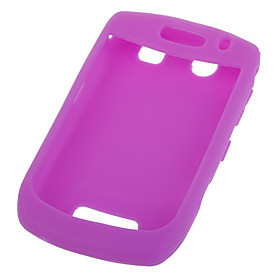 Silicone Case for BlackBerry 8900(Rose)