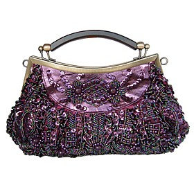 Gorgeous Silk Evening Handbags/ Clutches/ Top Handle Bags More Colors Available