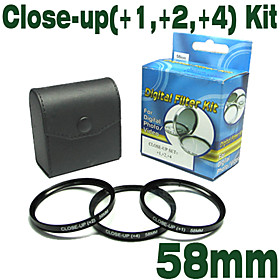 Emolux 58mm ( 1, 2, 4) Kit CLOSE-UP Filter (SMQ5563)