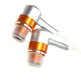 In-Ear Stereo Earphones (Orange)
