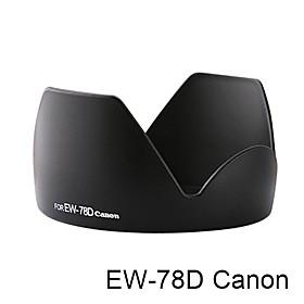 EW-78D Canon Lens Hood (Bayonet Mount) Petal Crown Flower Shape(CCA118)
