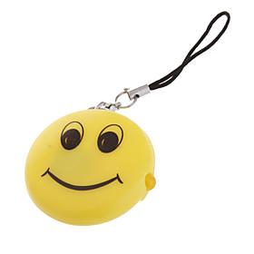 Smiley Shape LED Keychain Flashlight