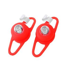 Red Light 3-Mode Tie-On Bike Light Keychains (2-Keychain Set)(YT-L118)