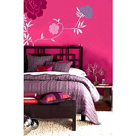 Flower Wall Sticker (0752 -SB009)