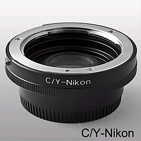C/Y-NIKON Adapter Mount Contax Yashica C/Y Lens to Nikon SLR / DSLR with Optial Glass (CCA151)