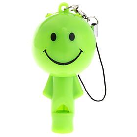 Cut Doll LED Keychain Flashlight With whistle