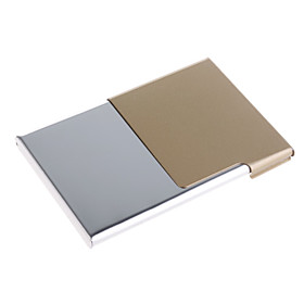 Fashion Metal Business Card Case (Assorted Colors)