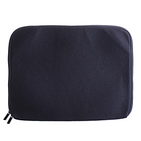 Wide 13.3 Shock Resistant Protective Carrying Bag for Laptops (Black)