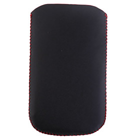 Protective Soft Case with Securing Strap for iPhone 3G (Black  Red)