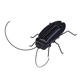 Novel Solar Powered Cockroach (Black)