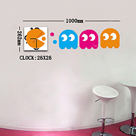 Decorative Clock Wall Sticker (0752 -DB009)