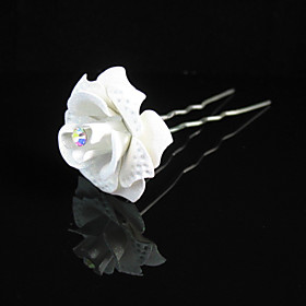 Gorgeous Clear Crystals Wedding Bridal Pins/ Flowers,More Colors Available