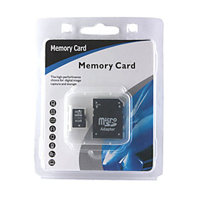 8GB Micro SDHC Memory Card with SD Adapter (CMC002)