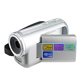 DV137  12MP Digital Video Camera Camcorder with 1.5-Inch Swivel LCD and 4X Digital Zoom (DCE1050)