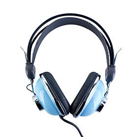 كم Kanen-740 سماعات ستيريو أنيقة (زرقاء)