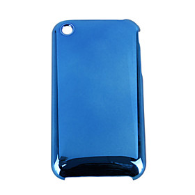 Hard Protective Case for iPhone 3G (Metallic Blue)
