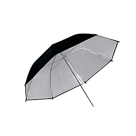 "43"" Pro Studio Silver Black Double layer Reflective Umbrella (CCA287)"