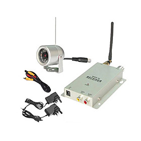 1.2G Hz Wireless Security Camera System (Night Vision Camera   Receiver)