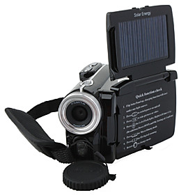 Solar Powered 12MP Digital Video Camera with 3.0