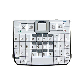 Repair Parts Replacement Keypad for Nokia E71 Cell Phone (White)