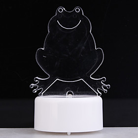 RGB Light LED Charming Drog Shaped Toy (3 AG13)