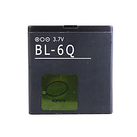 BL-6Q Cellphone Battery For Nokia 6700