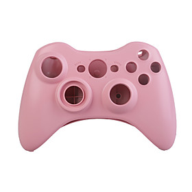 Replacement Control Pad Housing Case   Screwdriver for Xbox 360 Wireless Controller (Light Pink)
