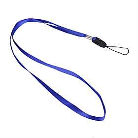 Trendy Neck Strap for Cell Phones and Gadgets (Blue)