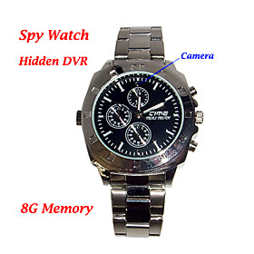Reloj De Pulsera Con Camara Oculta