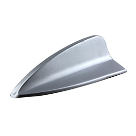 Sliver Plastic Car Antenna Shark Fin Decoration For BMW - Anti-static - Anti-knock lK-059