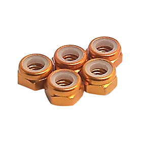 Orange Aluminum 5mm Lock Nut(57115O)