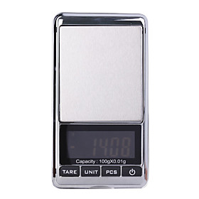 Digit Pocket Scale-Black 100g-0.01g (2 AAA)
