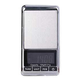 Digit Pocket Scale-Black 100g-0.01g (2 AAA)