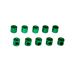 Green Aluminum Throttle Collars 10PCS (57502G)
