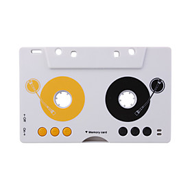Car Audio MP3 Tape Player Support Memory Card with Remote Control USB Adapter,Cable Earphone