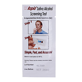 Rapid Saliva Alcohol Screening Tests Alcohol Test