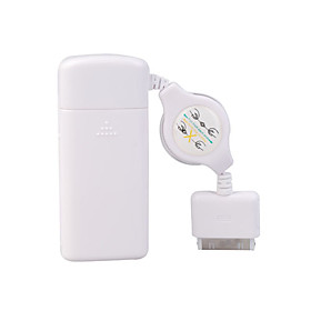 AA Battery Emergency Charger for  iPod Nano/Video/Touch/iPhone (White)