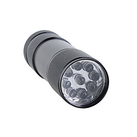 Mini Aluminum 9 LED Flashlight