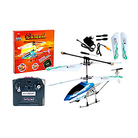 RC Helicopter Remote Control Mini Radio Control Radio Control Helicopters RC Toys (Blue)(YX02628B)