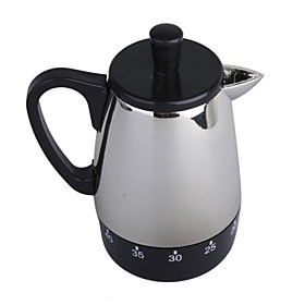 Silver Kettle Timer(0-60 minutes)  FREE SHIPPING