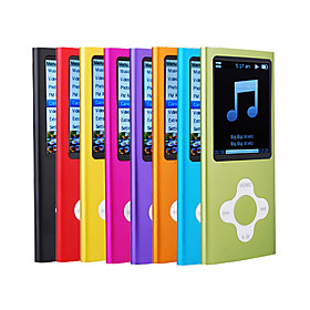 MusicTube 5 Gen MP3 Player (4GB, 8 Color Available)