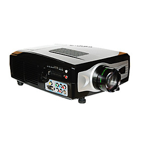 1800lm HDMI 1080i 5'' LCD Projector 640 480 for Home Theater DVD TV Laptop(HD66)