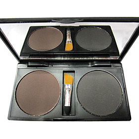 2 Colors Eyebrow Powder